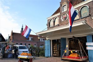 Edam has its own cheese weigh house, where the cheese market is held and the weekly goods market