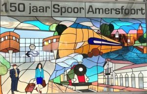 150 years of railway tracks in Amersfoort